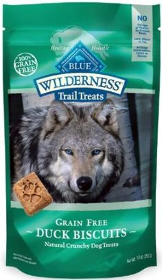 It can be so hard to find grain free cookies for dogs that can't have grain. These are some good ones