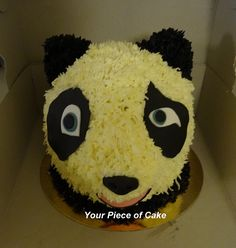Panda taart Piece Of Cakes, Desserts, Tailgate Desserts, Dessert, Deserts, Food Deserts, Postres
