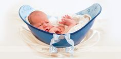 Painted belly bowl with baby