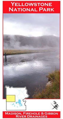 Firehole/Gibbon/Madison (YNP) River 11x17 Fly Fishing Map * Check out this great product.