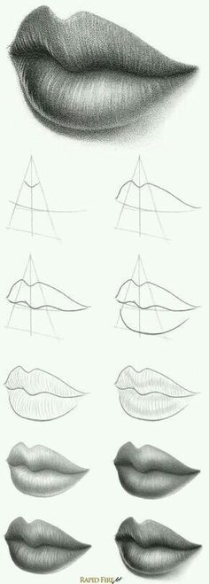 How to make lips