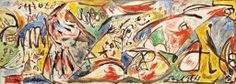 Jackson Pollock a palazzo Vecchio a Firenze