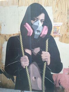 i.v. street art.