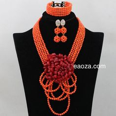 Latest design African Nigerian Indian quality coral beads by Eaoza