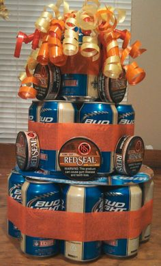 I think this is gonna be Kyle's christmas Present! Beer cake