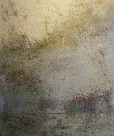 Dorte boe oil cold wax 30x40 cm modern art for Wax landscape