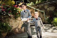@sonnenalpvail Wedding | Ring bearers | Vail wedding photographer | J La Plante Photo