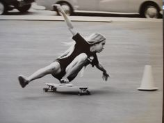 Skating in 70s. Laura Thornhill. with Style.