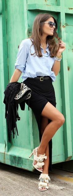 Daily New Fashion : Best Women's Street Fashion