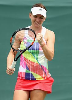 Simona Halep Photos - Miami Open - Day 8 - Zimbio