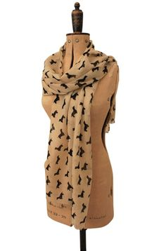 Ok. I realize that wearing this would make me a crazy wiener dog lady, but...i think i need it.