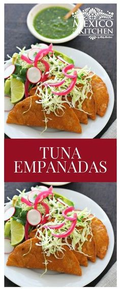 These Tuna Empanadas remind me of those hot summer days on the beach in my hometown of Tampico #recipe #mexican #empanadas #antojitos