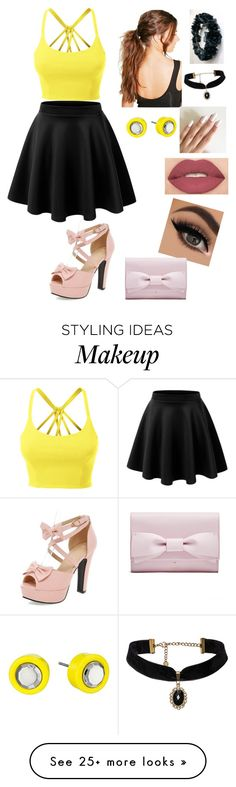 """Date"" by emilyyy97 on Polyvore featuring LE3NO, Boohoo, Marc by Marc Jacobs and Smashbox"