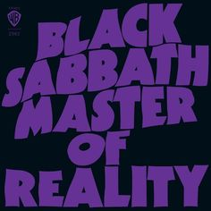 Black Sabbath - Master Of Reality (Deluxe Edition) Limited Edition 180g 2LP
