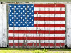 barn flag . . so americana
