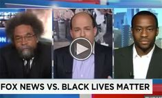 Cornel West and Marc Lamont Hill Give a Near Perfect Explanation About Why Anti #Blacklivesmatters Media Coverage Is a Distraction from the Real Issues