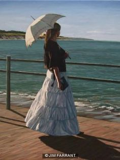 The Girl on the Promenade