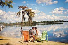 Beautiful Beach Wedding Photos at Paradise Cove in Orlando, Florida » Misty Miotto's Blog
