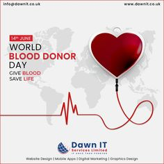 Never lose the opportunity for blood 💉🩸donation as it always chooses someone special.  🆎🅰️🅱️🅾️ Happy World Blood Donor Day.  #Blood #Donation #Savelife #Donor #Blooddonorday #webdesigner #webdesign #webapplicationdevelopment #mobileappdesign #logodesign #digitalmarketing #graphicsdesign Mobile App Development Companies, Mobile Application Development, Web Development, Web Design, Logo Design, Graphic Design, Blood Donation, Mobile App Design, Seo Services