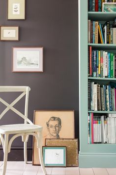 Farrow and Ball Colours for 2015 - Tanner's Brown, dead Salmon, Oval Room Blue