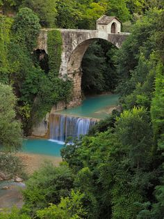 Cecco bridge (Ascoli Piceno) by MaxShutterSpeed on 500px