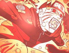 Naruto Kyuubi Mode #uzumaki naruto
