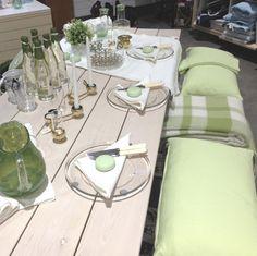 Theme of April: Pretty table-setting. Table Settings, Interior Design, Pretty, Beautiful, Home, Nest Design, Home Interior Design, Interior Designing, Ad Home