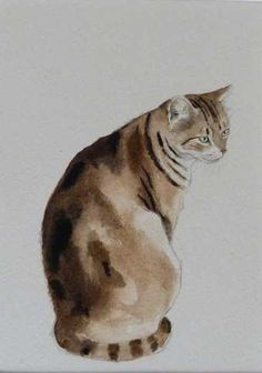 Cat painting by Kay McDonagh