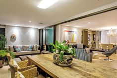 Apartamento Decorado Le Parc - Salvador-Ba Projeto: Roberta Rennó Arquiteta