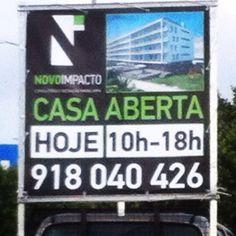 CASA ABERTA - Hoje - 10h/18h Rua José Joaquim Marques 266 #novoimpacto #openhouse #fazemosfamiliasfelizes www.novoimpacto.pt