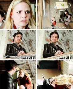 I ALMOST HAD A HEART ATTACK AT THIS PART!! AND THEN IT WAS THE CUTEST CAPTAIN SWAN EVER IT WAS SOOOO GOOD OMG I LOVE IT!!!!!!!!!!!!! <3 <3 <3