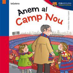 L'avi està neguitós: avui juga el Barça i ha decidit dur els seus néts al Camp Nou. Serà un partit molt especial: és el primer cop que els bessons van al camp del Futbol Club Barcelona. Anem-hi amb temps i amb ganes de cantar, animar els jugadors i veure un bon partit! Visca el Barça!