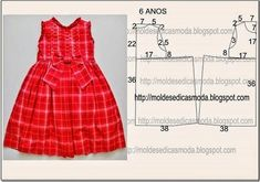 Diy idea how to make tutorial sew girl dresslace child dress with step-by-stepFashion molds for Measure Discussion on LiveInternet - Russian Service Online DiariesKids pattern resize for doll Baby Girl Dress Patterns, Baby Clothes Patterns, Dress Sewing Patterns, Little Girl Dresses, Clothing Patterns, Girls Dresses, Diy Dress, Baby Sewing, Fashion Kids
