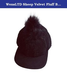 WensLTD Sheep Velvet Fluff Ball Baseball Cap Boys Girls Snapback Hip Hop Flat Hat (black). 100% brand new and high quality Quantity:1PC Gender:Unisex Item type:Baseball caps Style:Casual Material:Sheep velvet Strap type:Adjustable Pattern type:Solid Package include:1*Baseball cap.