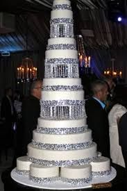 Image result for wedding cakes with lights and fountains