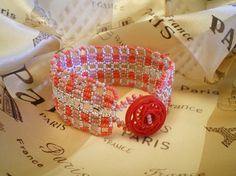 Tutorial for Tartan Lace bracelet