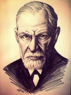 Sigmund Freud Sketch by gelipe on deviantART