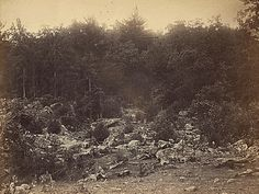 """Gettysburg pictures from the National Archives """"slaughter pen""""."""