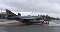 RAF No.208 Squadron Centenary Photocall – Hawker Hunter ZZ190
