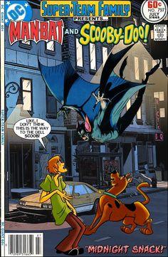 Man-Bat and Scooby-Doo!