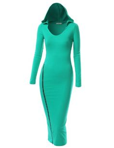 9XIS Womens Unique Long Sleeve Dress With Hood And Side Leg Zipper 9XIS,http://www.amazon.com/dp/B00D3OVS06/ref=cm_sw_r_pi_dp_KBm5rb19QMWS3D2J