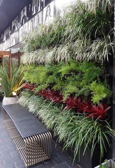 New Wall Garden Design Balconies Ideas