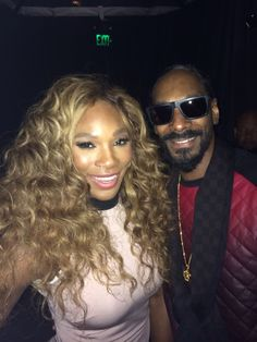 Cute! Via Serena Williams: Compton and Long Beach together we ain't nothin but trouble.... @Snoop_Dogg