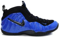 Nike Air Foamposite Pro Royalblue Black0