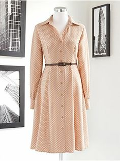 Eva Mendes Collection - Pia Prairie Shirtdress from New York & Company - Love it!