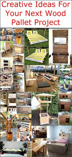 We know that there are many people, who are aware of the fact that wood pallets can be used again after they are utilized for safe transfer of the fragile items. So, we always try to collect the unique ideas that the individuals like you are searching for to copy for your next wood pallet project. Here are multiple new ideas shown below from which anyone can choose and create for making the home look impressive by placing innovative items that can't be seen anywhere else. Have a look at the…