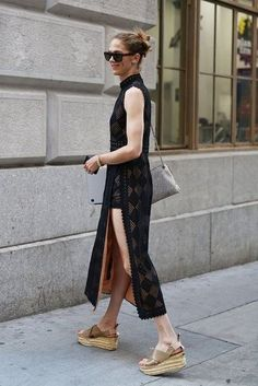 Go With Clunky Platforms - Exciting Ways to Glam Up a LBD - Photos