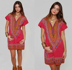top dashiki outfit ideas for women - 20 ways to wear dashiki African Attire, African Wear, African Fashion, African Outfits, African Print Dresses, African Dress, African Clothes, African Prints, Protective Hairstyles