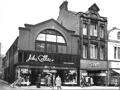 John Collier and Stylo, High Street West Childhood Images, Childhood Memories, Family History Book, History Books, Clothes Shops Uk, Sunderland England, Funeral Planning, High Street Shops, Victorian Buildings