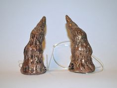 Brownish mauve & gold Faun / Faery / Goblin by changelingscloset